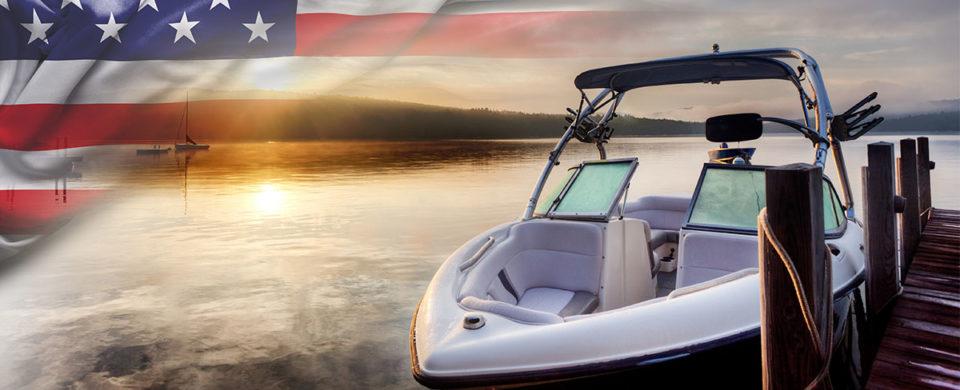 Memorial day boat