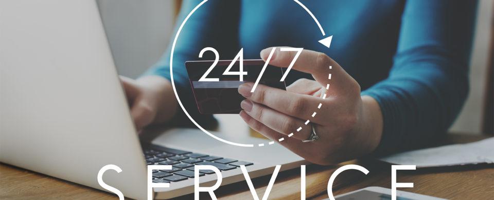 call center 24 7