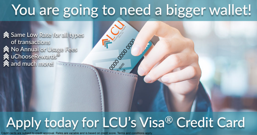 LCU VISA® Credit Card
